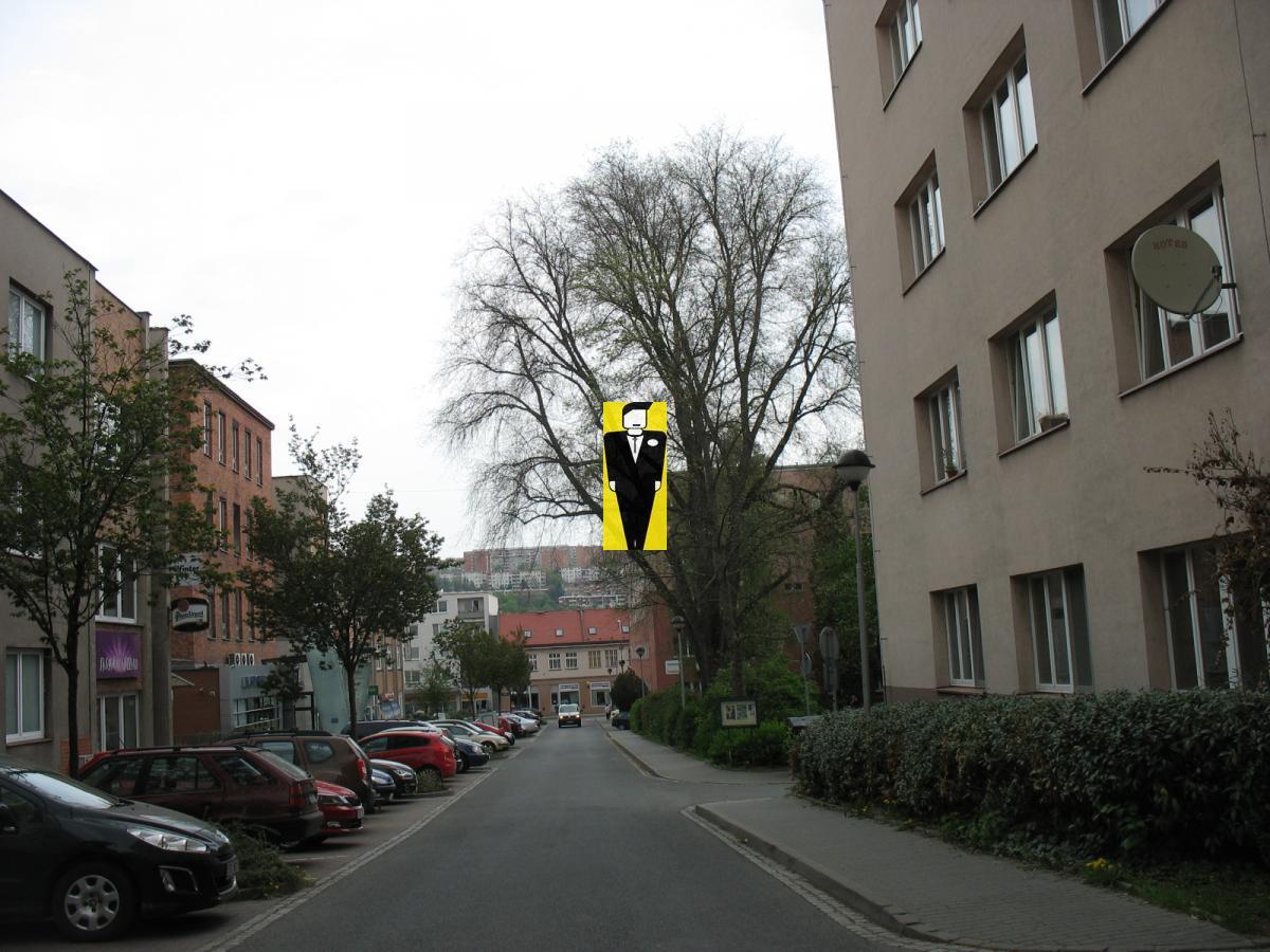 Pronájem bytu 1+1 v centru.Zlín