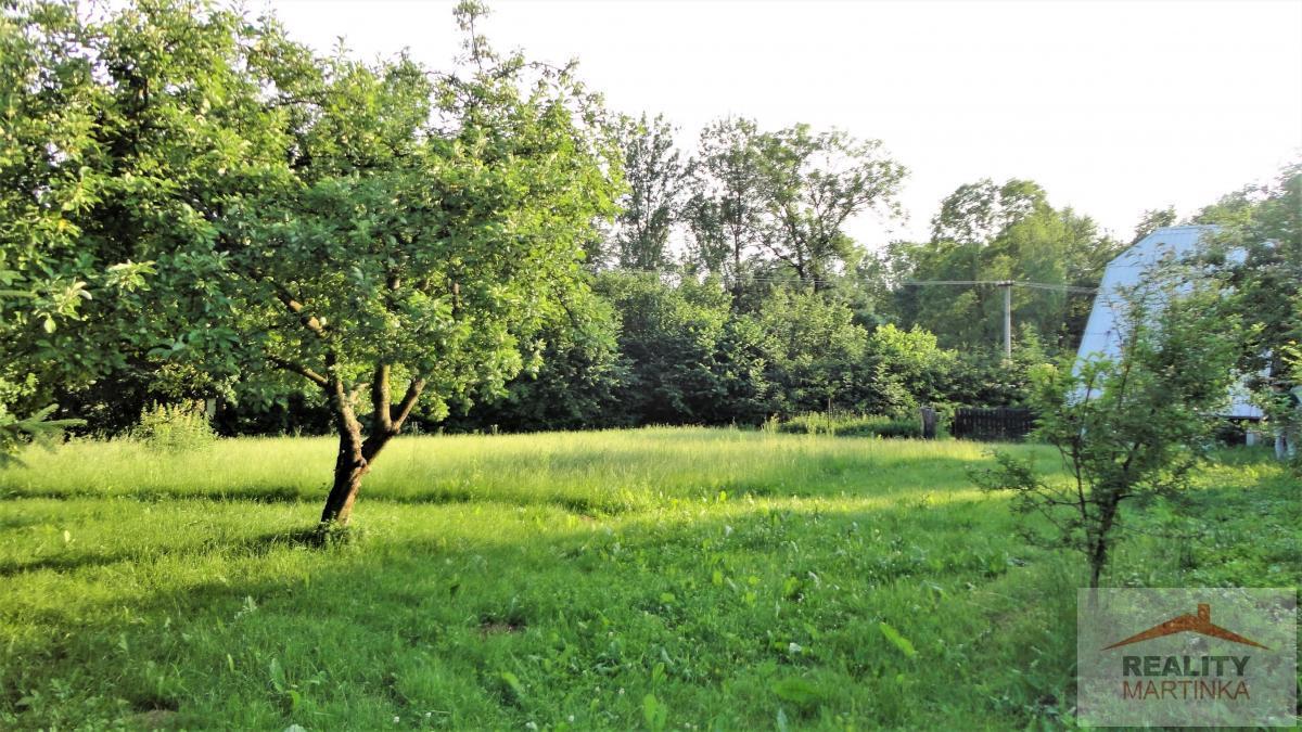 Prodej stavebního pozemku 1200 m2 Branky u Valašského Meziříčí